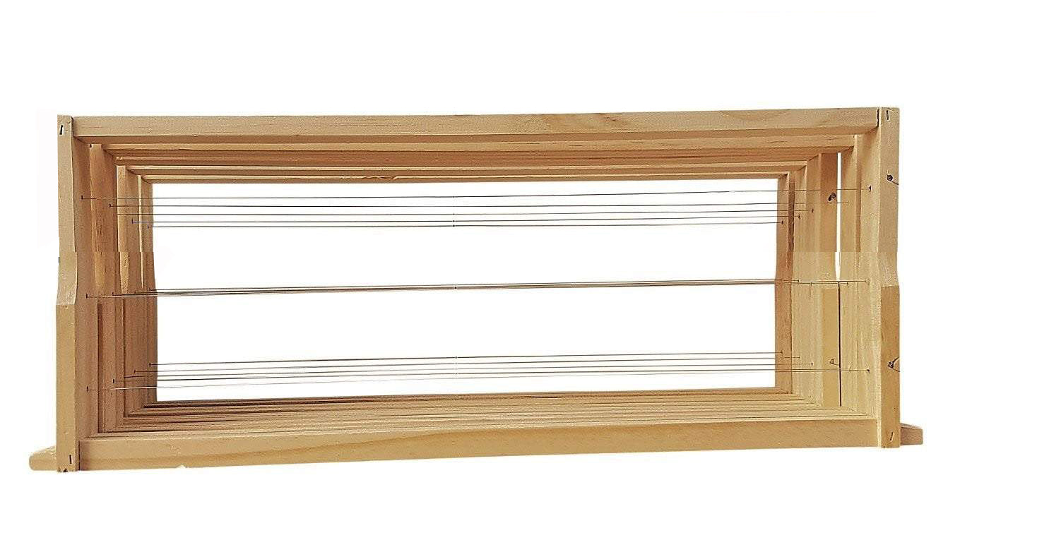 WSP Assembled & Wired Beehive frames - Save when buying in bulk