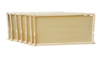 New Zealand Made Painted & Wax dipped  Box 10 Frames with optional Frames,Beekeeping,beekeeping gear,oz armour