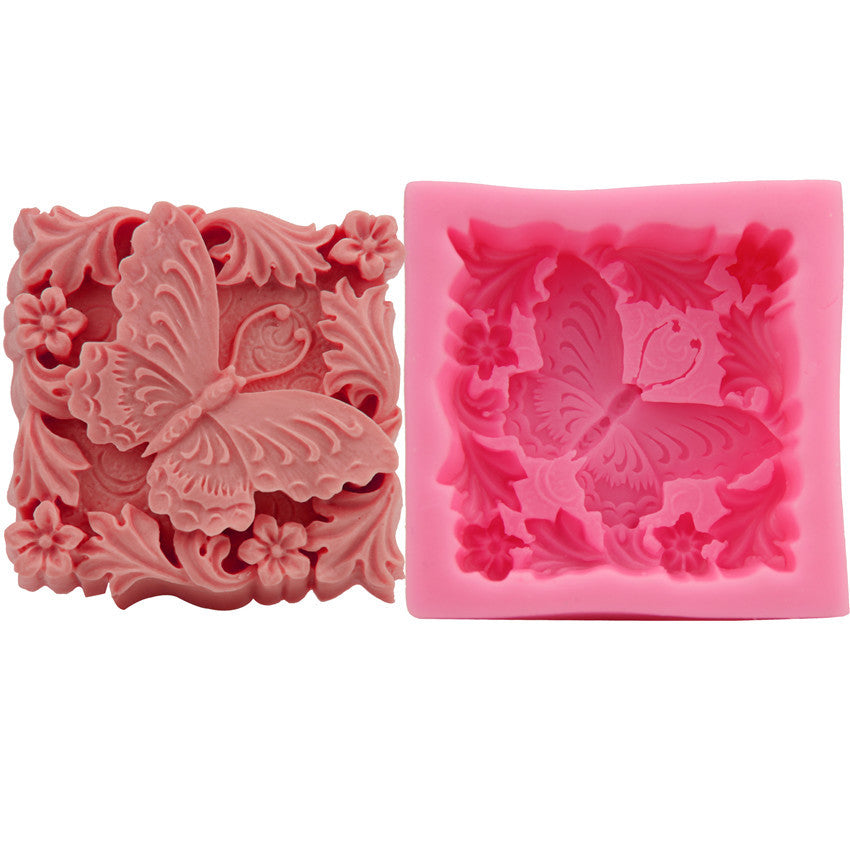 Silicone Candle/Bath bomb Mold Butterfly