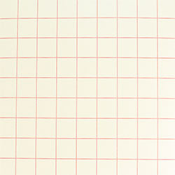 "Red Grid - Paper High Tack Transfer Tape with Release Liner - 12""x12"""