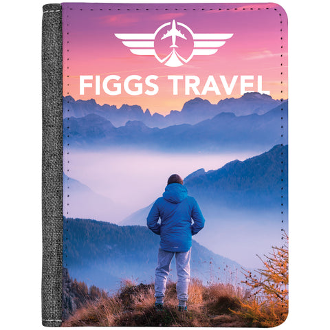 "Sublimation Passport Cover - 4 1/4"" x 5 1/2"""
