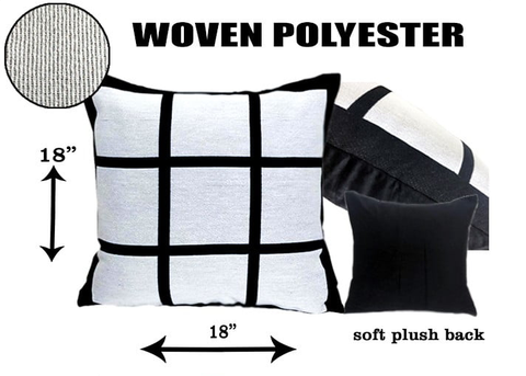 Sublimation 9 Panel Pillow Case
