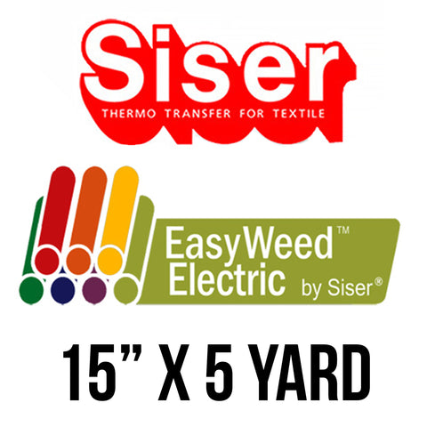 "Siser Electric - 15"" x 5 Yards"