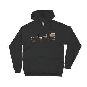Light Designs Cult. Street Unisex Fleece Hoodie