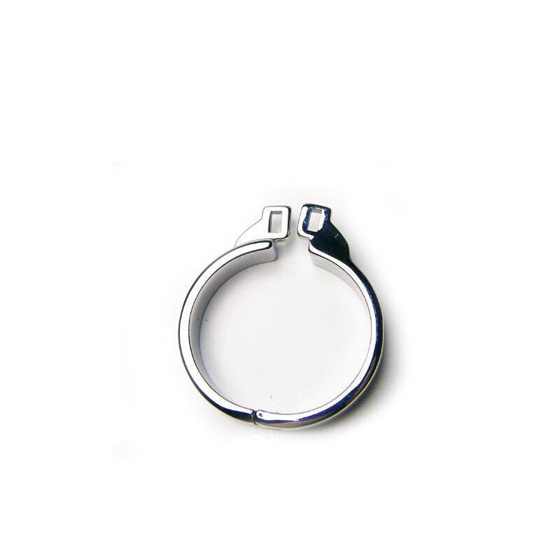 Accessory Ring for Stainless Steel Rattlesnake Metal Chastity Device