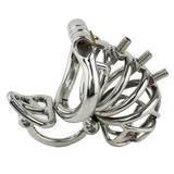 Cock Asylum Metal Chastity Device 2.76 inches long