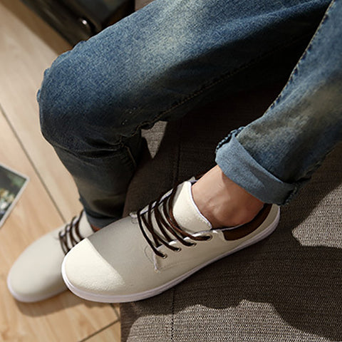 Men's canvas casual sports shoes
