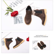 Men's High Help England Wild Scrub Booties