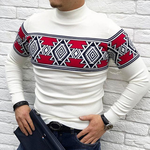 Men's Fashion Printed Long Sleeve Sweatshirt