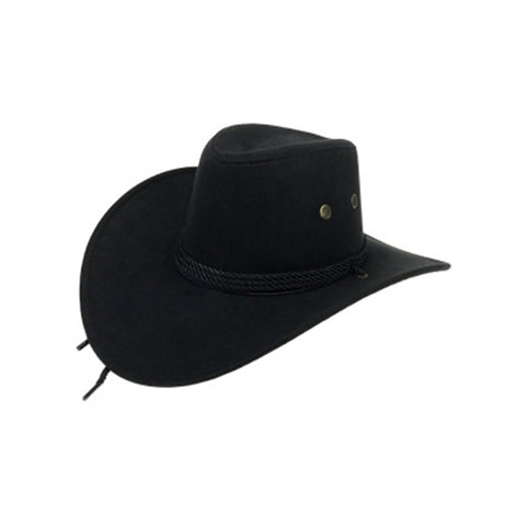 Western Cowboy Suede Outdoor Sun Riding Hat