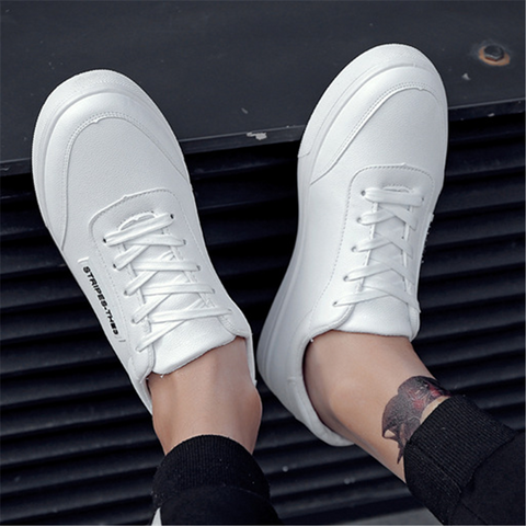 Men's low-cut lace-up casual shoes