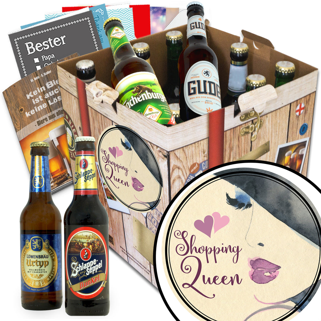 Shopping Queen | 9x Bier Biere Deutschland | Paket