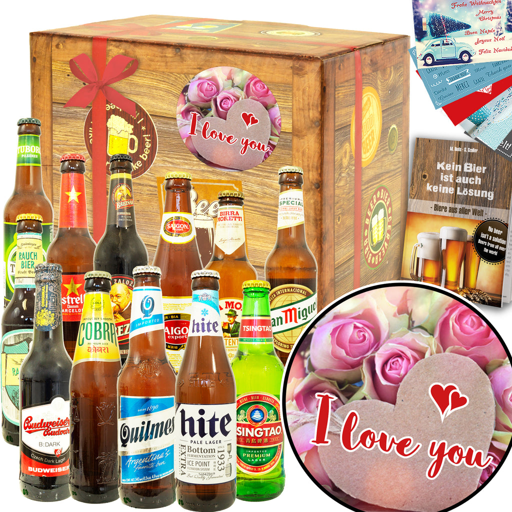 I love you | 12 Länder Bierweltreise | Paket