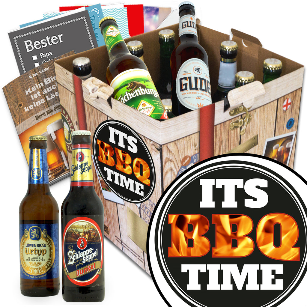 It's BBQ-time | 9x Bier Bier Deutschlandreise | Bierbox