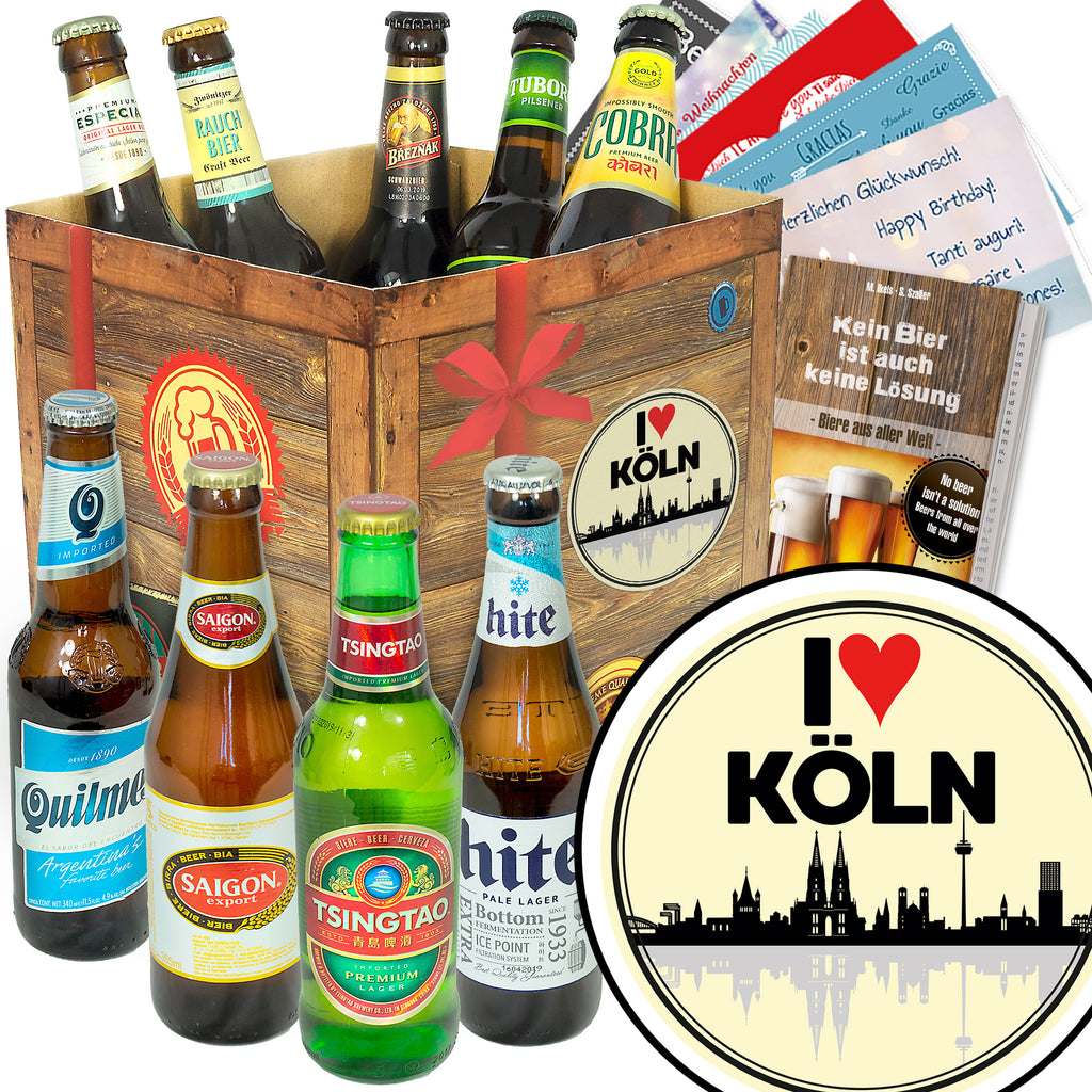 I love Köln | 9 Länder Bier International | Bierverkostung