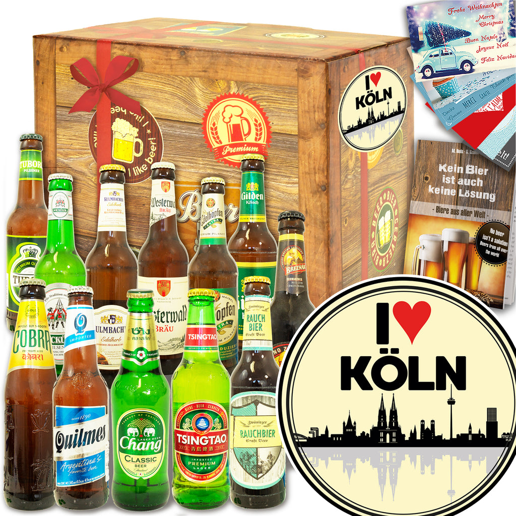 I love Köln | 12x Bier International und DE | Bierverkostung