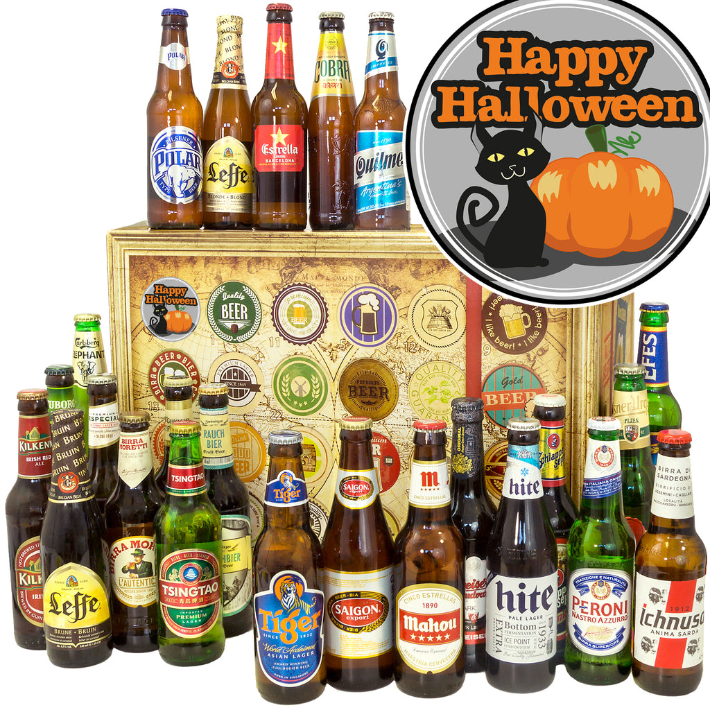 Halloween | 24 Flaschen Bier International | Paket