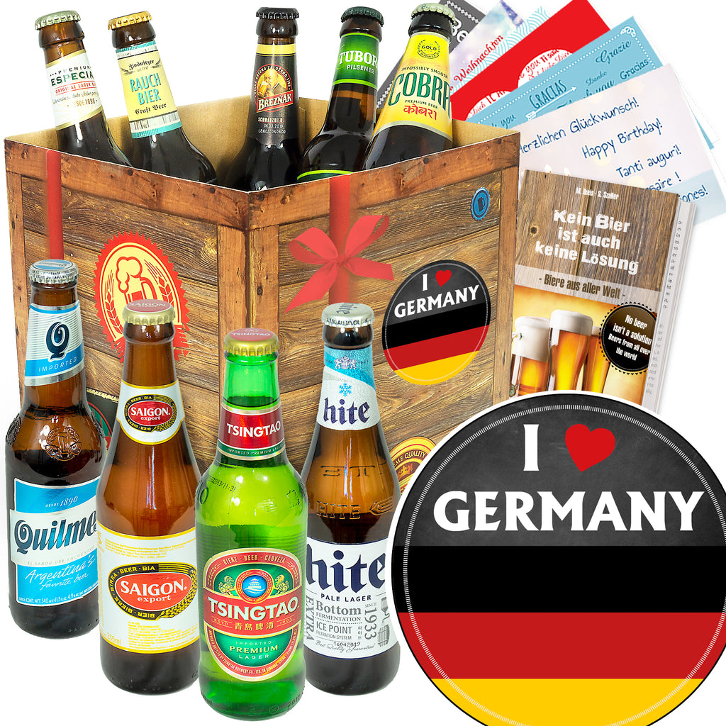 I love Germany | 9 Flaschen Bier Weltreise | Box