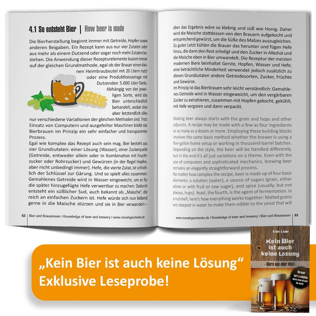 Zahl 95 | 9x Bier International | Geschenkbox