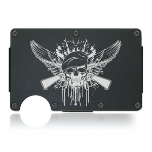 Skull & Wings Wallet