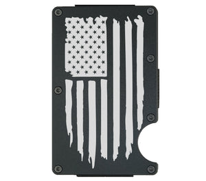 American Flag Wallet - CarbonKlip