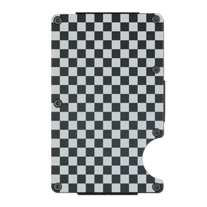Basic Checkered Wallet