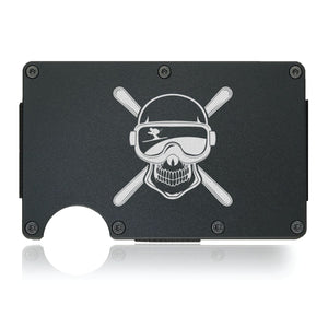 Crossbones Ski Wallet - CarbonKlip