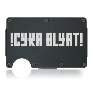 !CYKA BLYAT! Wallet - CarbonKlip