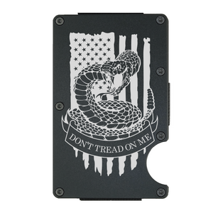 Don't Tread On Me American Flag Wallet