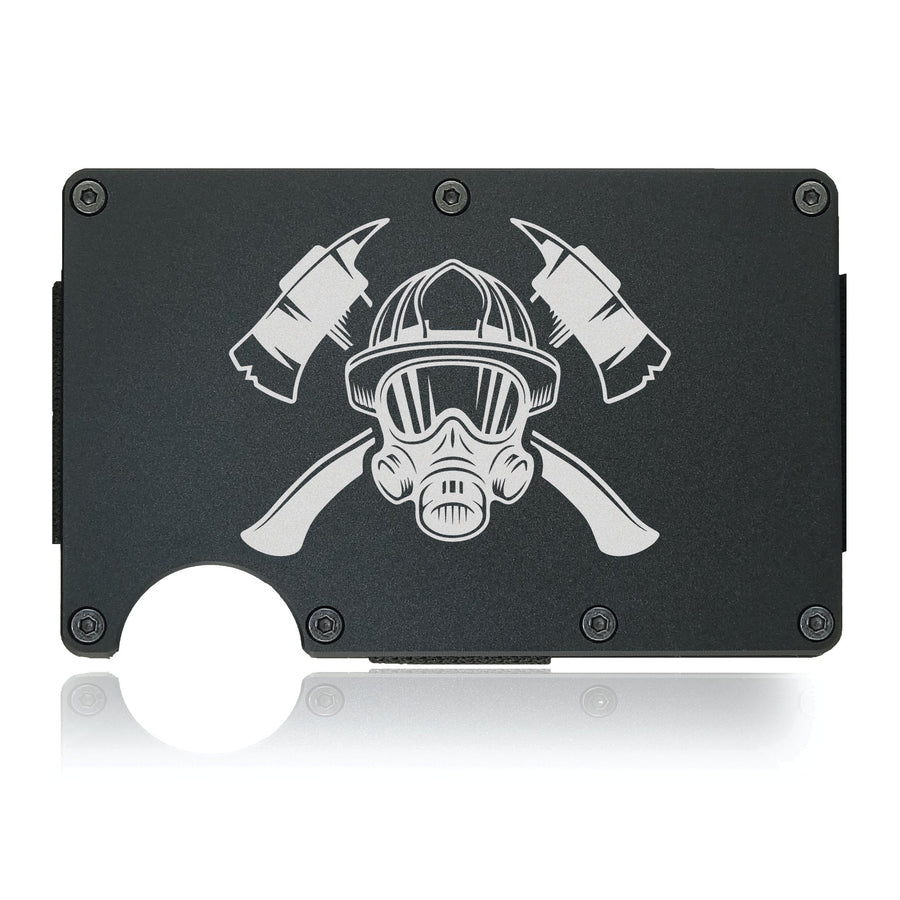Fire Fighter Wallet Customizable Number