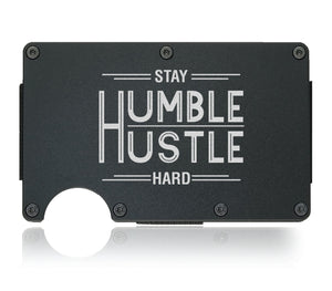 Hustle Harder Entrepreneur Wallet - CarbonKlip