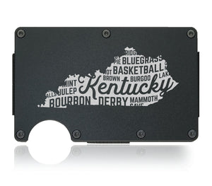 Kentucky State Wallet - CarbonKlip