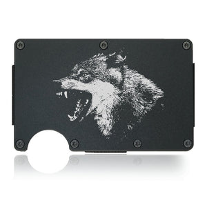 Lone Wolf Wallet - CarbonKlip