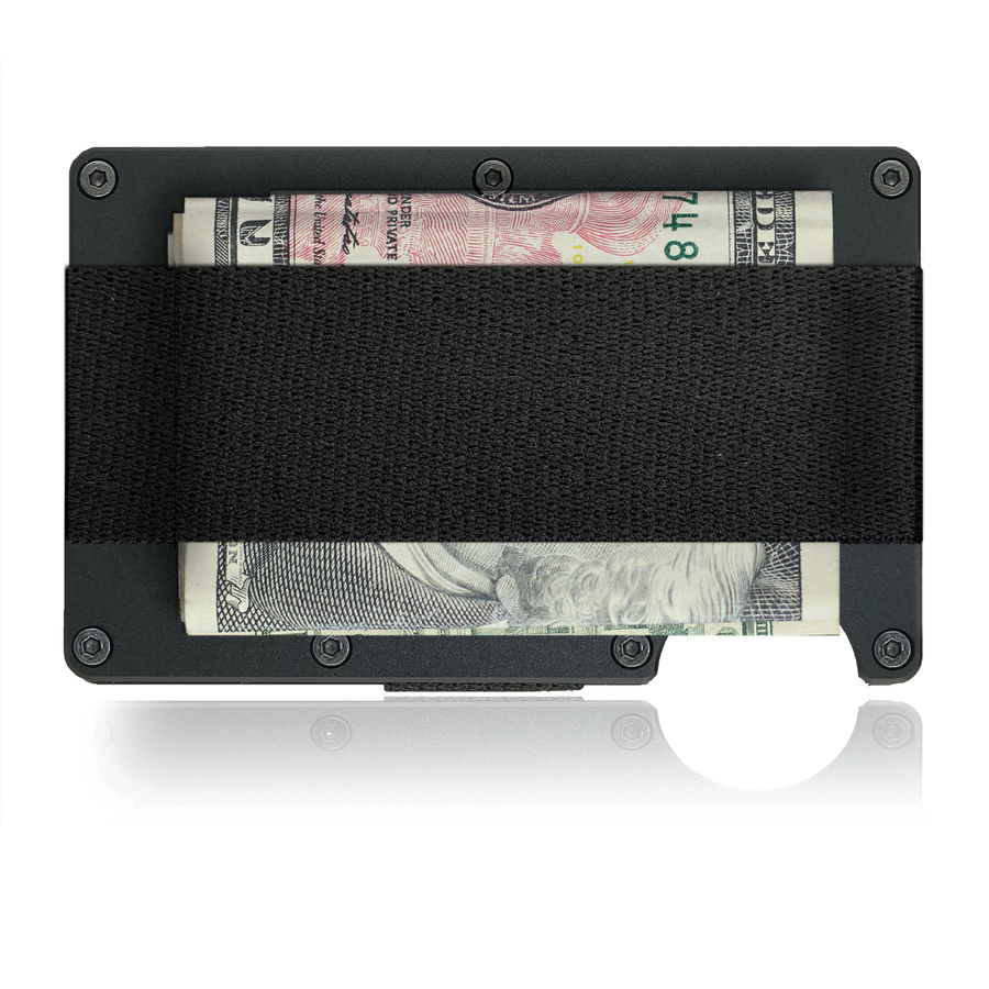 Marijuana Leaf Wallet - CarbonKlip