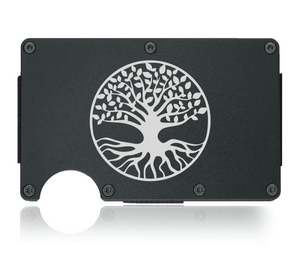 Tree of Life Aluminum Wallet