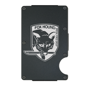 foxhound wallet | aluminum card holder