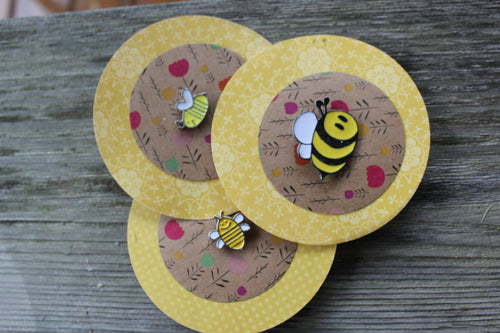Bee Pin Gift Pack - Angry Bees