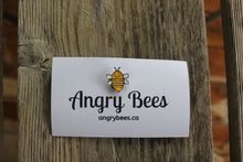 Load image into Gallery viewer, BEE-FLY Bee Pin - Angry Bees