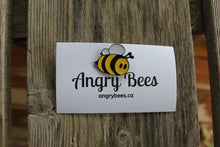 Load image into Gallery viewer, BEE-Queen Bee Pin - Angry Bees