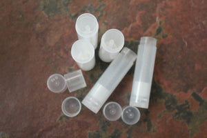 Clear Lip Balm Tubes - Angry Bees