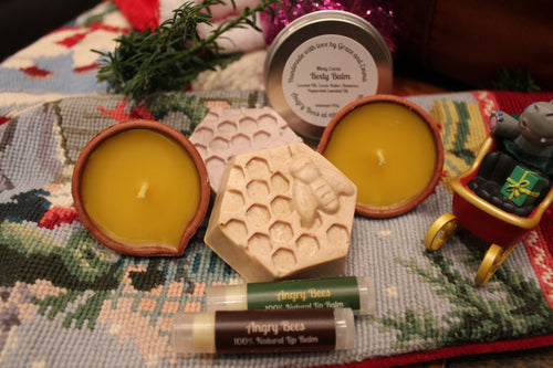 Self-Care Christmas Gift Pack - Angry Bees