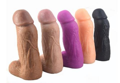 giant dildos different colors