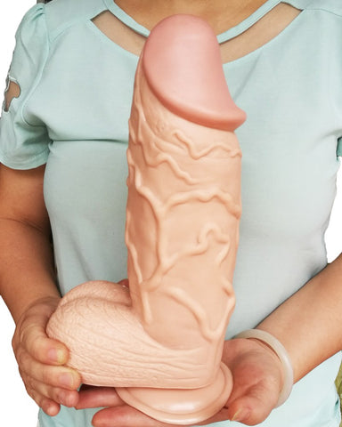 Thick 255*73mm Thierry Huge Thick Flesh Dildo Realistic Penis