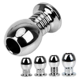 Stainless Steel Hollow Tunnel Plugs