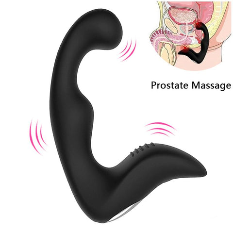 USB RECHARGEABLE 5 INCH SILICONE PROSTATE MASSAGER