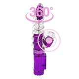 Rotating Rechargeable Double Vibrators for Women