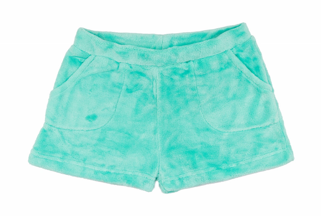 Mint Plush PJ/Lounge Shorts