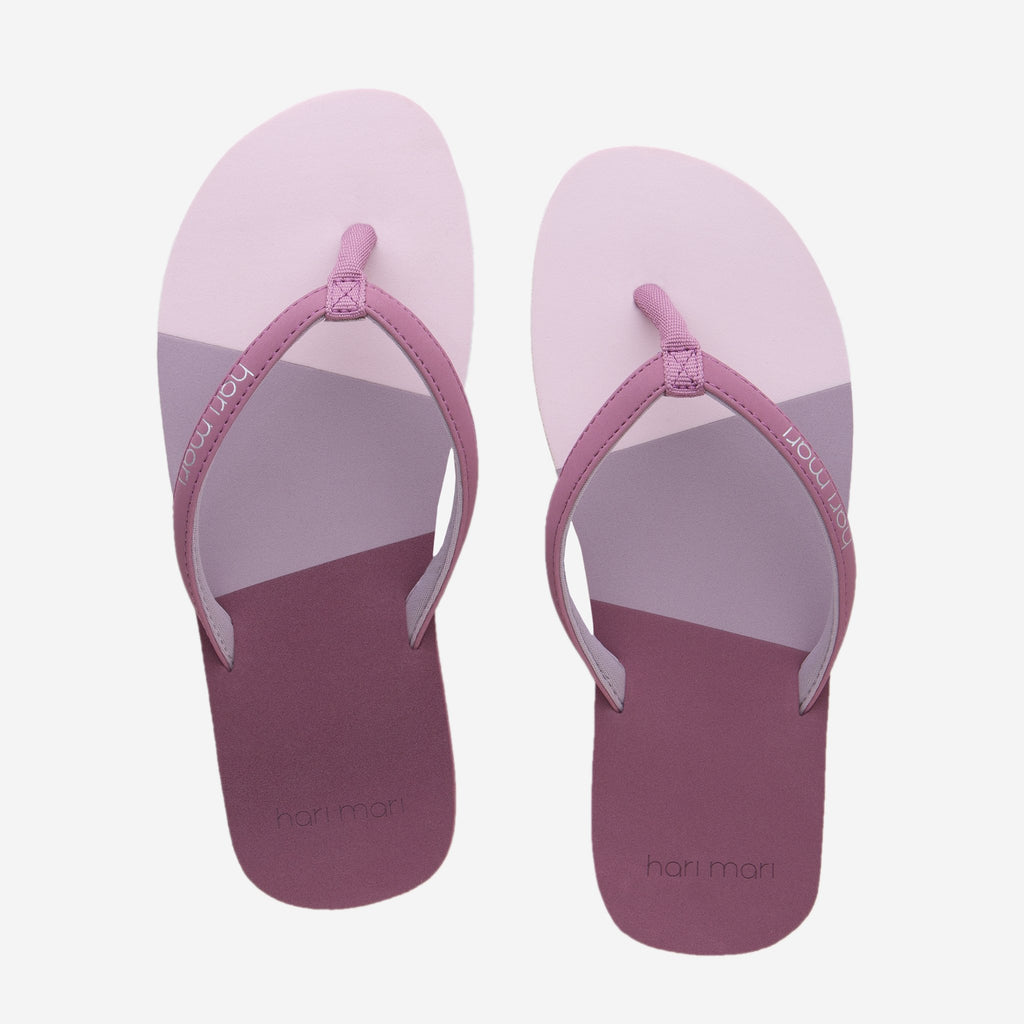 Meadows Asana Rose Flip Flops