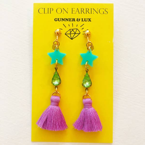 BLING BLING Clip on Earring