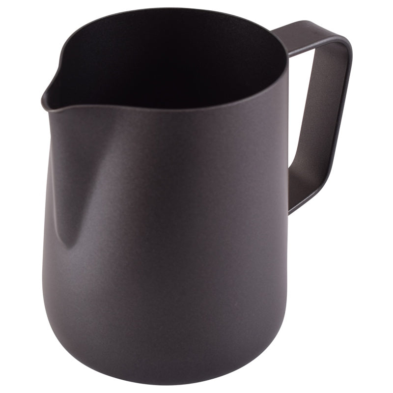 Black Teflon Foaming Jug 350ml